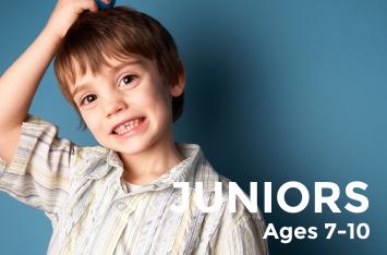 Juniors   Ages 7 – 10